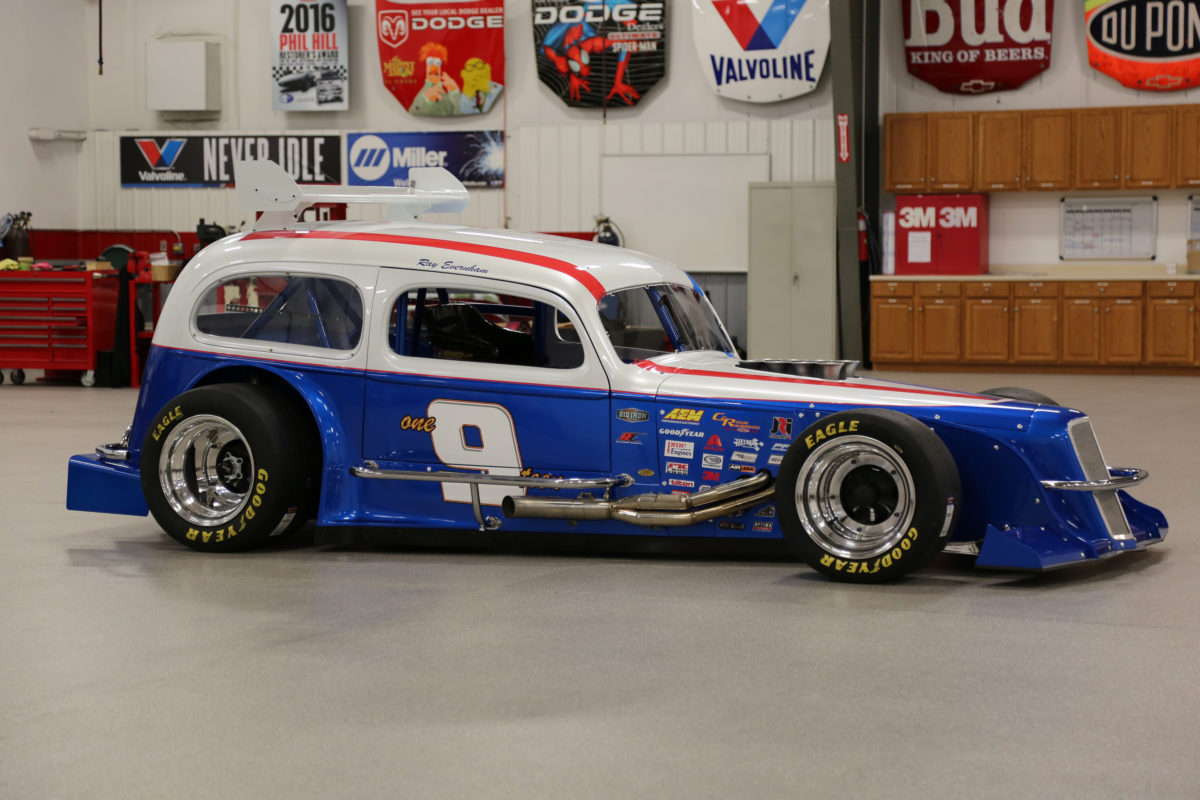 Ray Evernham S Ghost 1936 Chevy Sedan Modified Is A